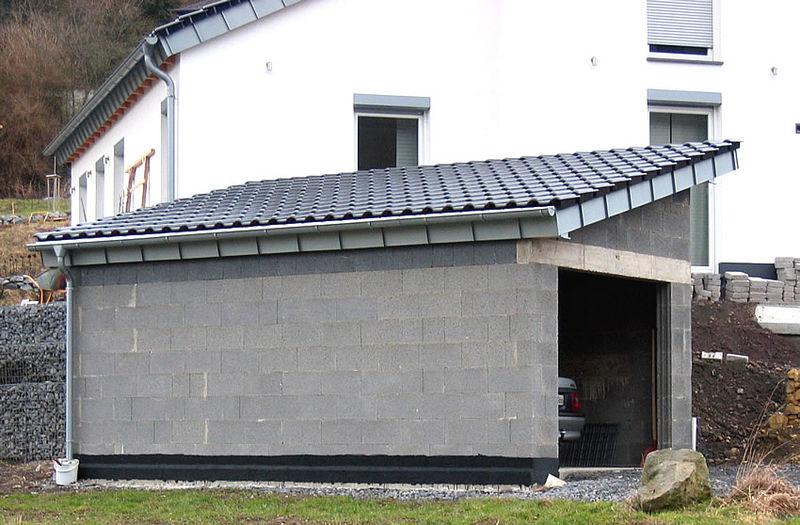 Wandverkleidung Garage : Garagen carports zimmerei stoll